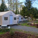 Tent Cabins at Fort Camping